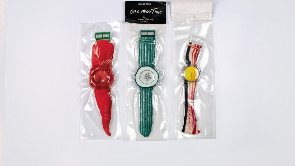 Iris von Arnims Swatch-Uhren