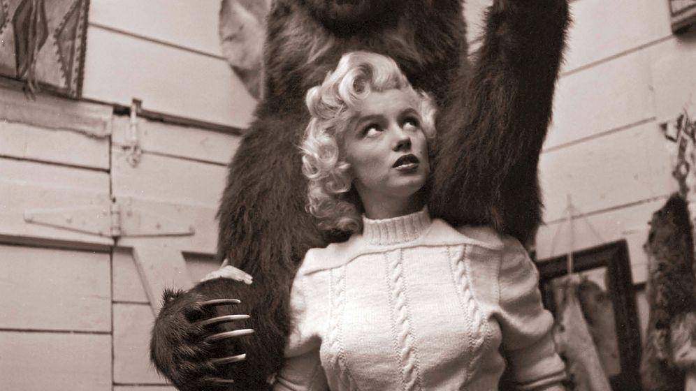Monroe im Krankenurlaub: Entzücken auf Krücken