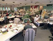 Großraumbüro: Vermeintliche Revolution der Arbeitswelt
