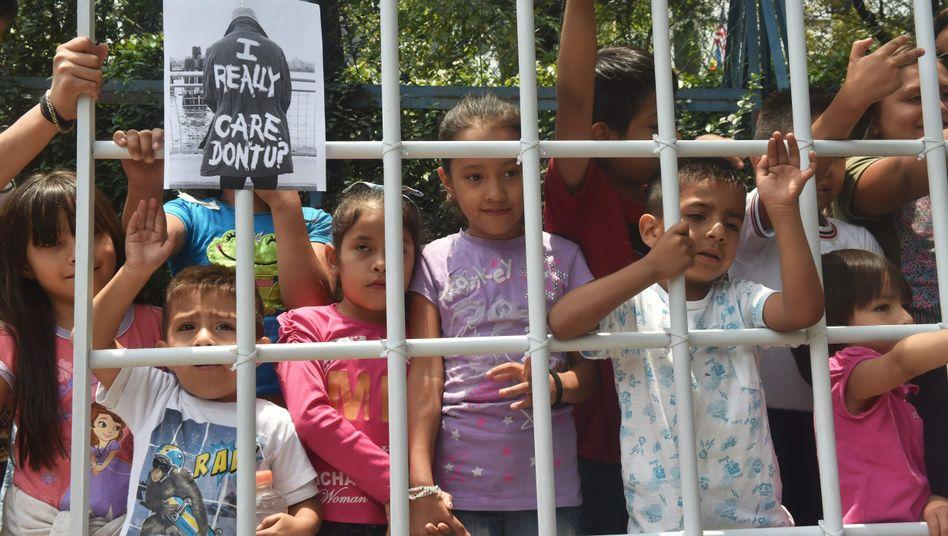 Protest gegen Familientrennungen an der US-Grenze mit Mexiko