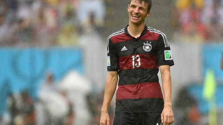 Deutschland vs. USA: Einmal Müller reicht für Klinsmann