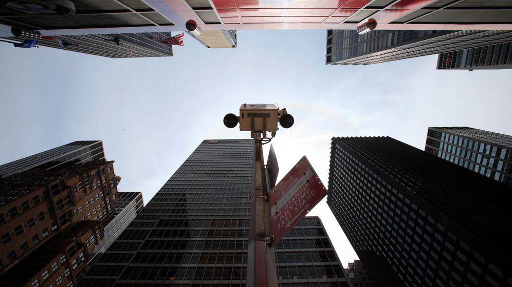 Intelligente Kameras: New Yorker Polizei überwacht die ganze Stadt