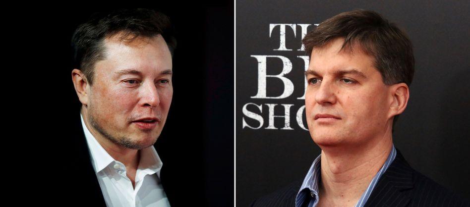 Tesla-Chef Elon Musk, Investor Michael Burry: Eine gemeinsame Fehleinschätzung