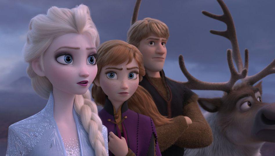 In der Disney-Geschichte geht es um die Schwestern und Prinzessinnen Elsa und Anna.