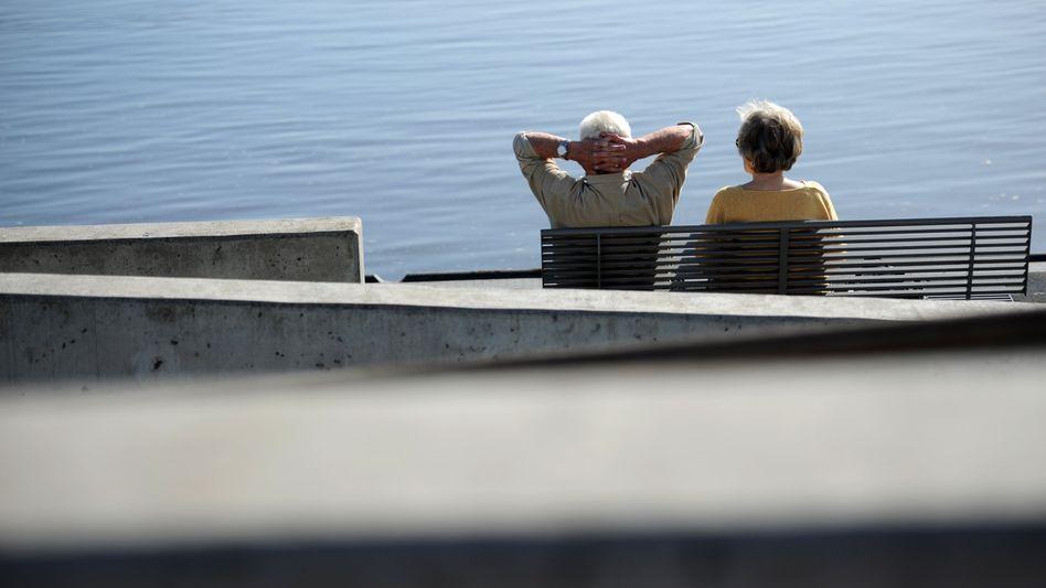 Senioren in Geesthacht bei Hamburg