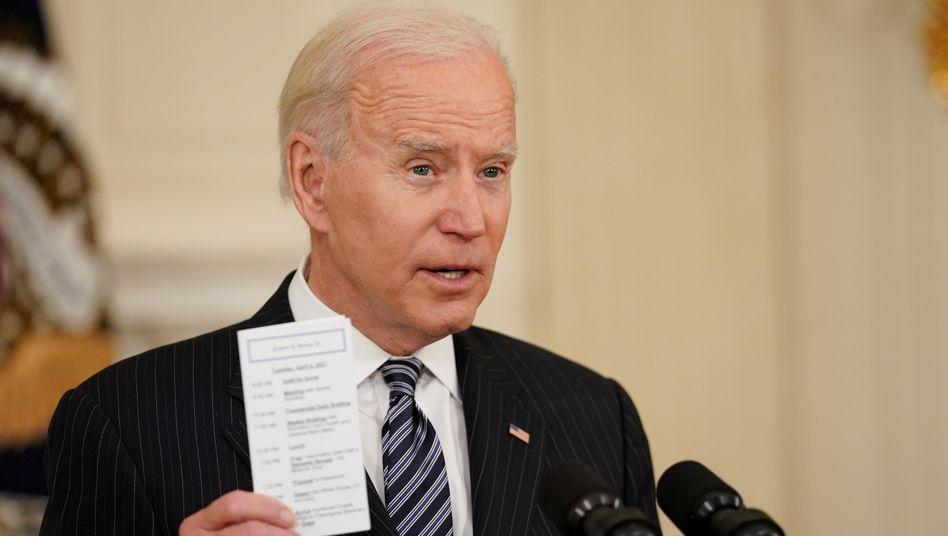Präsident mit Plan: Mit der EU will Joe Biden Druck auf andere Nationen ausüben, ihre Klimaschutzanstrengungen zu verstärken