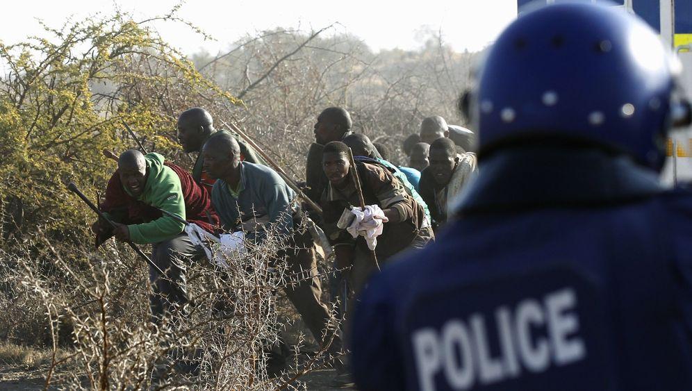Südafrika: Erst das Blutbad, dann der Polit-Skandal