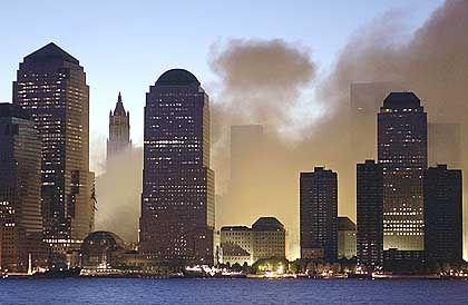 Rauchschwaden über New York: Grenzwerte nicht überschritten