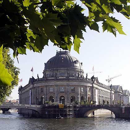 Renoviertes Bode-Museum auf der Museumsinsel: Bis 2011 soll Chipperfields neues Eingangsgebäude fertig sein