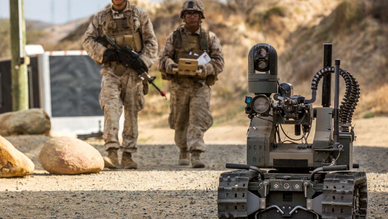 US-Bericht zu autonomen Waffensystemen: Wettlauf der Kampfroboter - DER SPIEGEL
