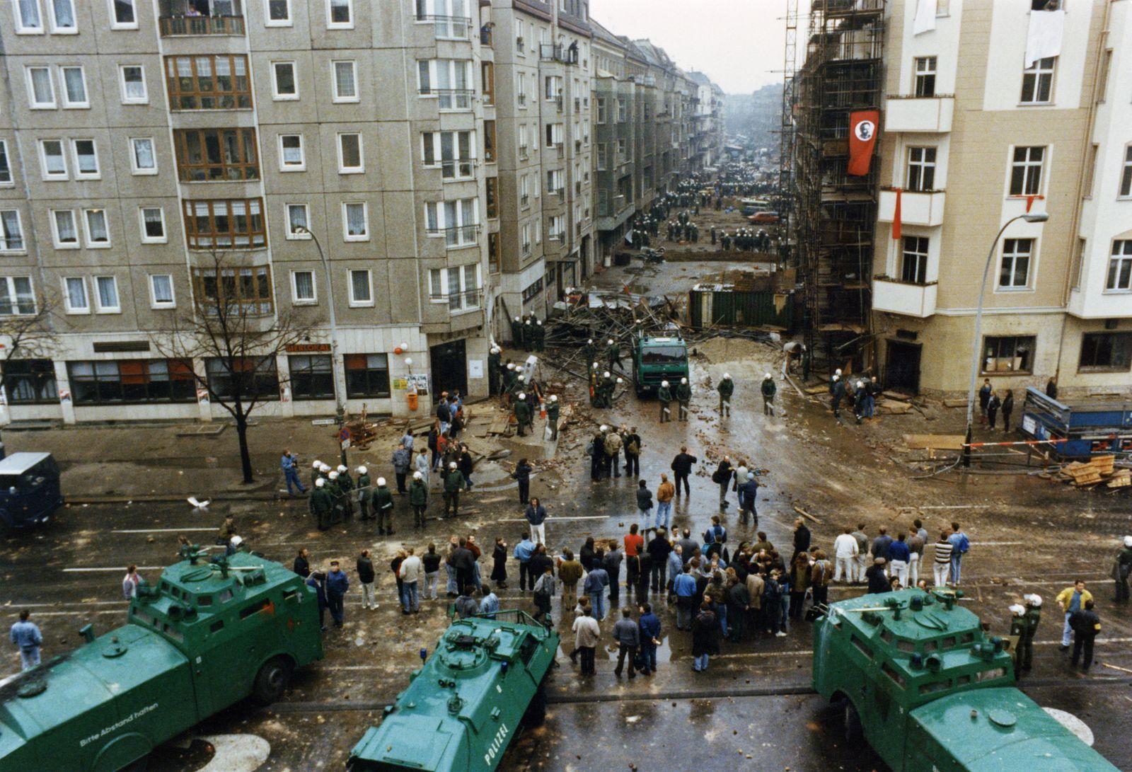 Hausbesetzer Berlin 1990