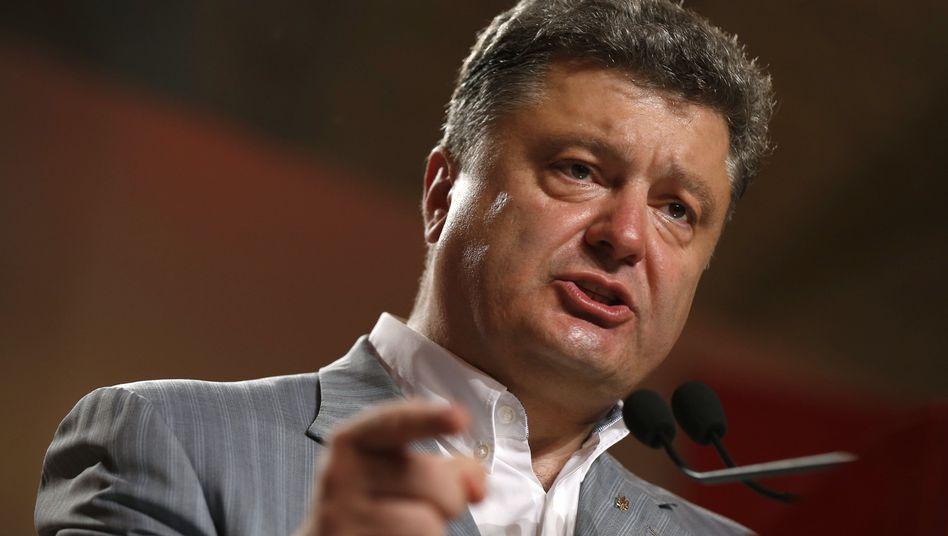 """Petro Poroschenko: """"Staatsfinanzen dezentralisieren"""""""