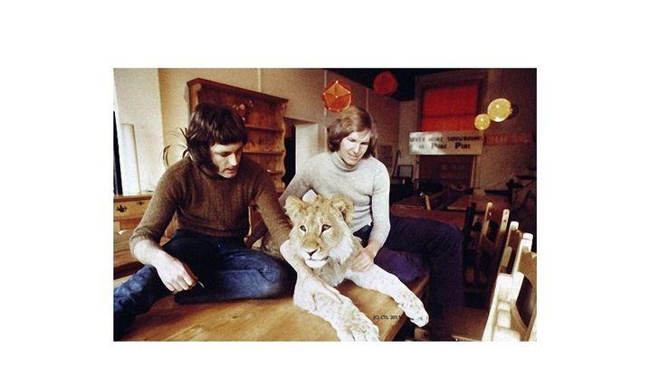 Pelziger Mitbewohner: Christian der Löwe
