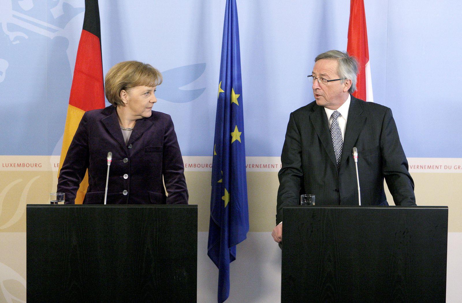 Merkel/ Juncker