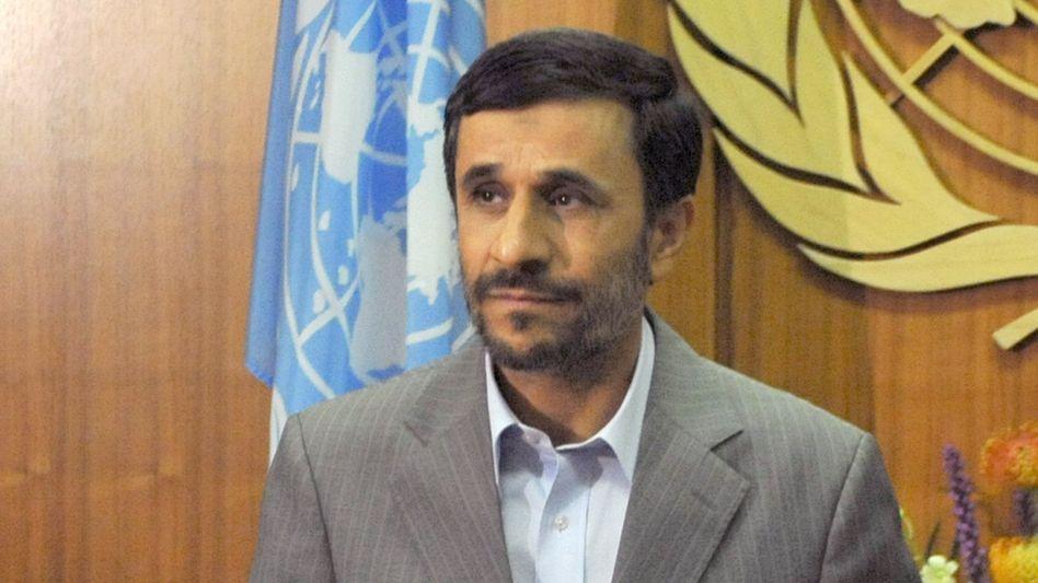"""Irans Präsident Ahmadinedschad (in New York): """"Keine Zugeständnisse"""""""