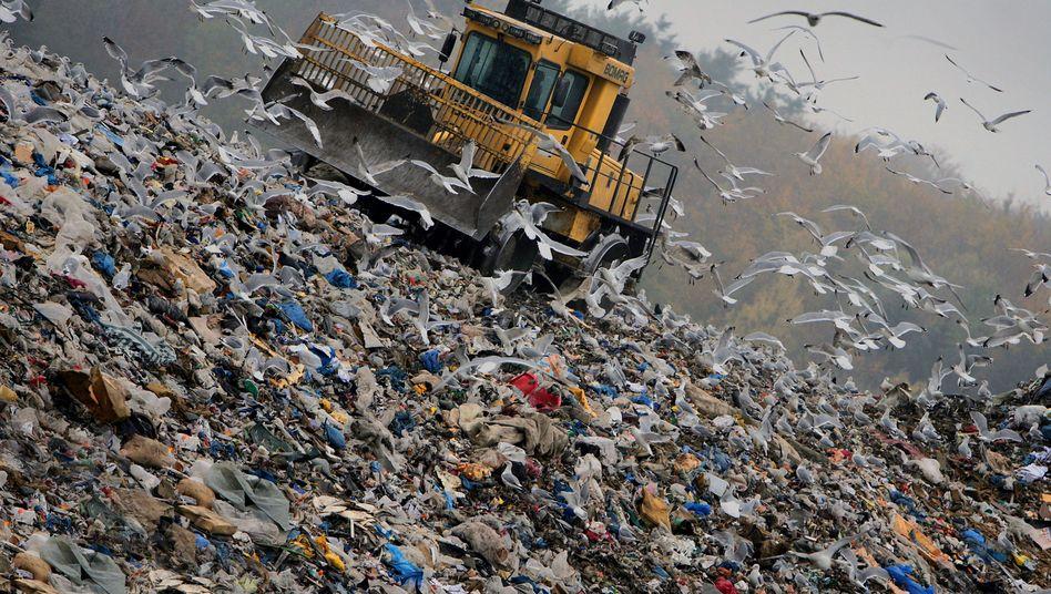 Deponie: Über 26 Millionen Tonnen Eisenschrott
