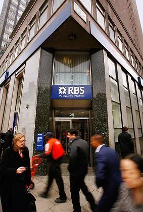 Royal-Bank-of-Scotland-Filiale in London: 20.000 Stellen in Gefahr