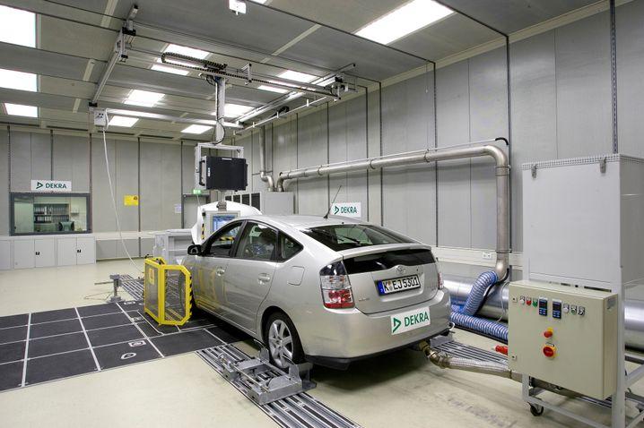 Toyota Prius auf dem Prüfstand: Einige Hybridmodelle haben Vorteile im Labor