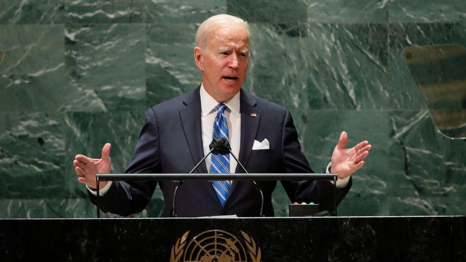 US-Präsident Biden: »Unerbittliche Diplomatie«