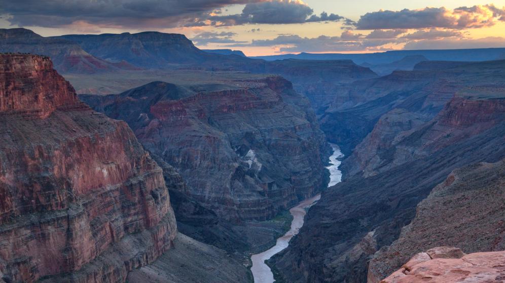 Colorado River im Grand Canyon, US-Bundesstaat Arizona