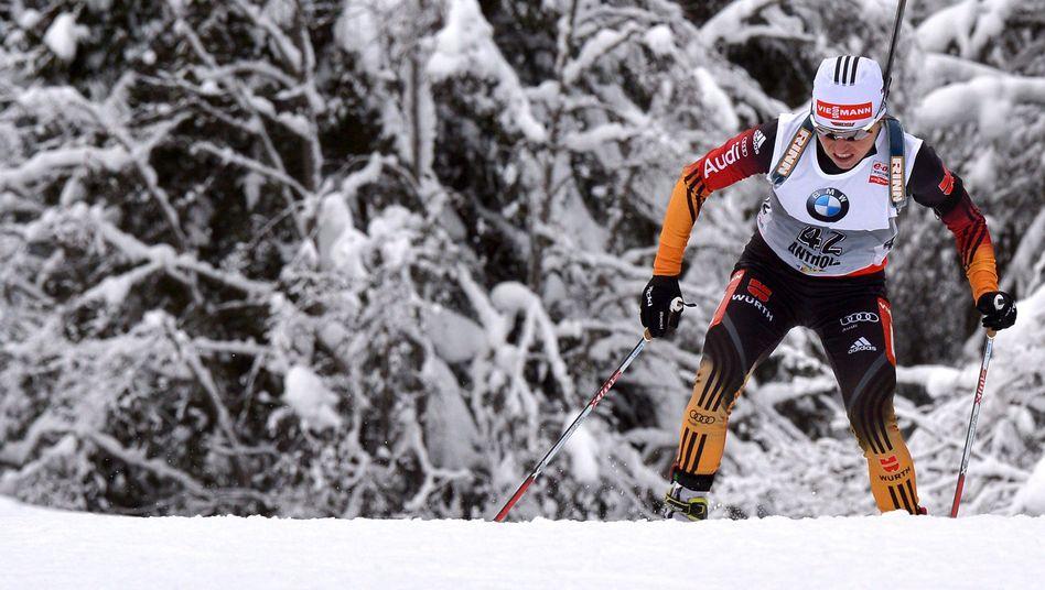 Biathletin Henkel: 22. Weltcupsieg der Karriere