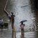 Starker Monsunregen setzt in Indien Gleise unter Wasser