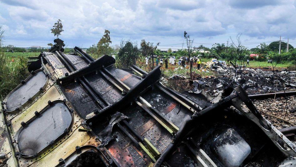 Abgestürzte Maschine in Kuba (Archiv)