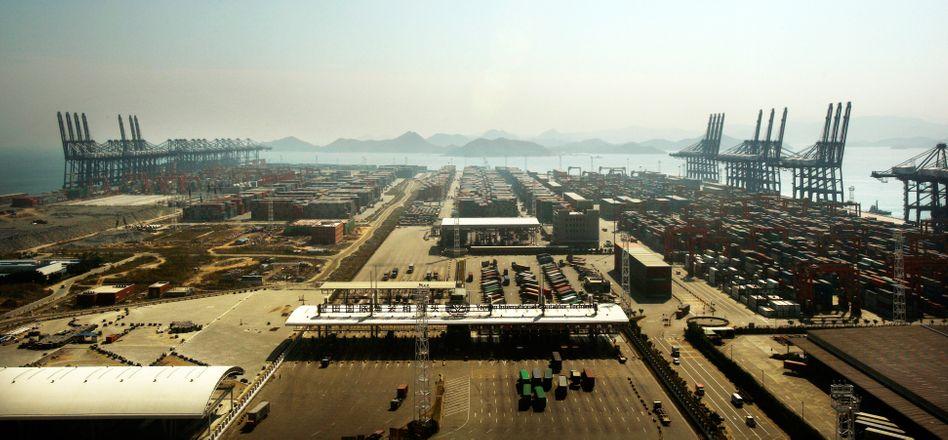 Der Containerhafen Shenzhen-Yantian
