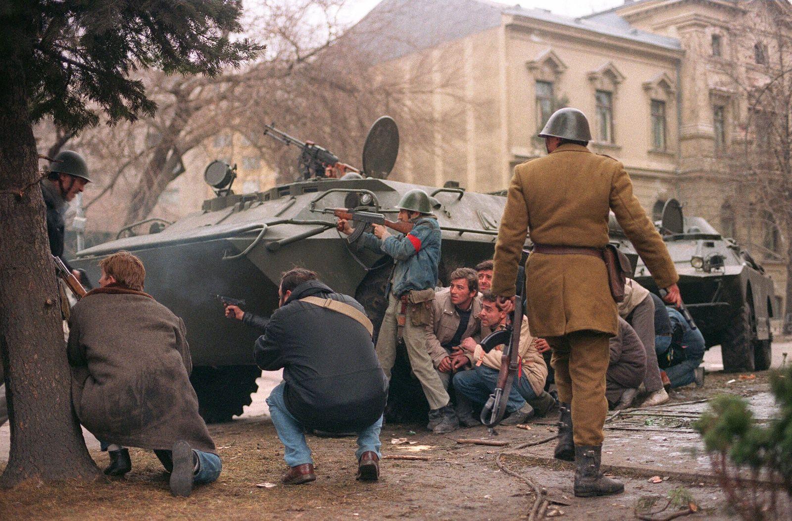 Ceausescu verflucht