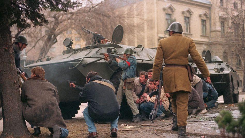 Antikommunistischer Aufstand in Rumänien im Dezember 1989: Blutige Unruhen