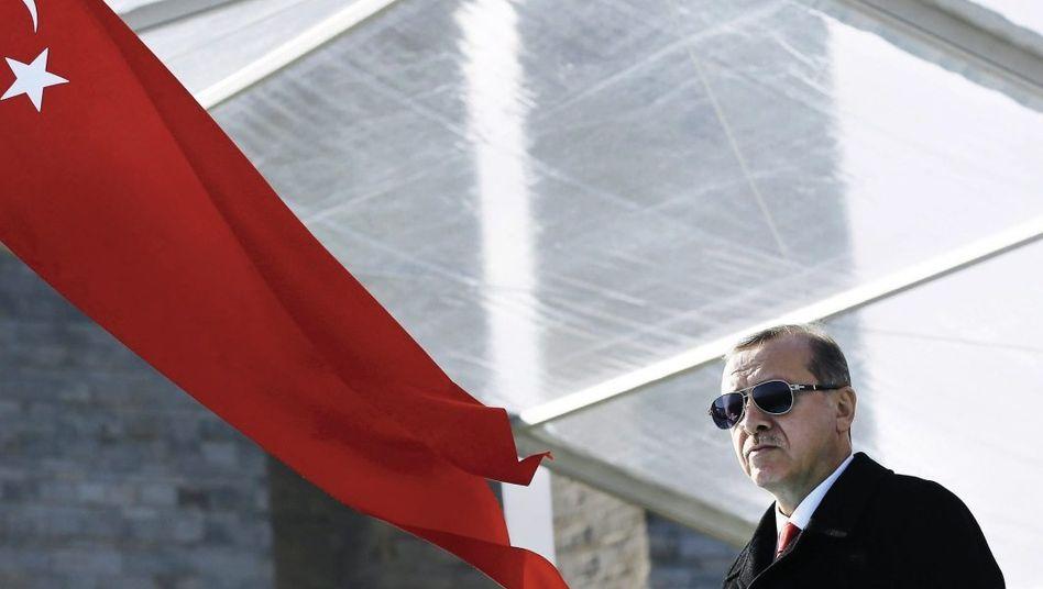 Staatschef Erdoğan