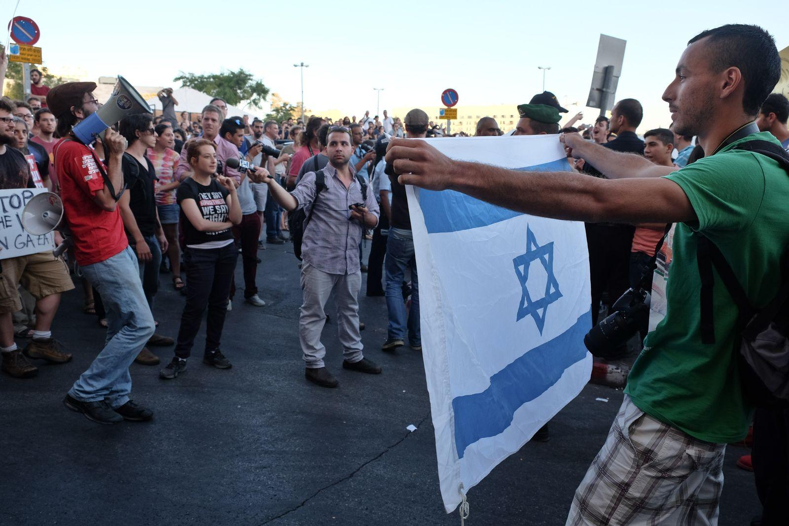 NICHT MEHR VERWENDEN! - Jerusalem / Anti-Rassismus-Demo