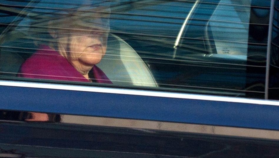 Angela Merkel (nach der letzten Verhandlungsrunde)