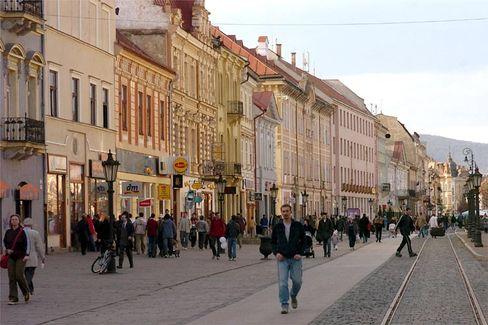 Das slowakische Košice am Rand des neuen Europas: Der Frieden könnte hier vorbei sein, wenn die ungarische Minderheit noch kosovarischem Vorbild aufbegehrt, befürchten viele Politiker.