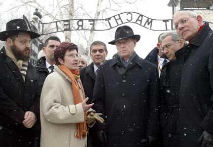 Bundespräsident Köhler in Auschwitz: Gedenken an den millionenfachen Mord