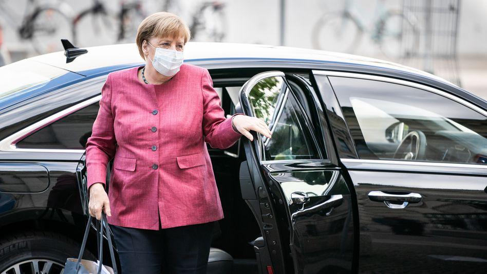 Bundeskanzlerin Merkel in Berlin