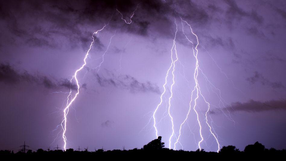 Gewitter über Niedersachsen