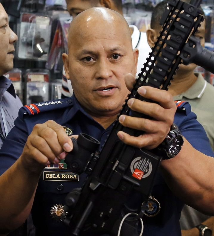 Polizeichef Rosa