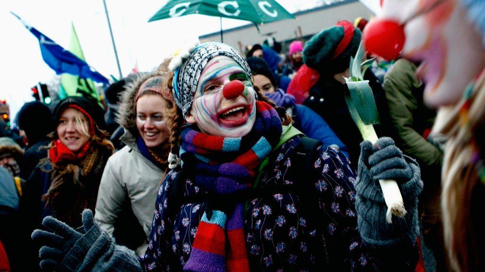 Kopenhagen: Proteste beim Klimagipfel