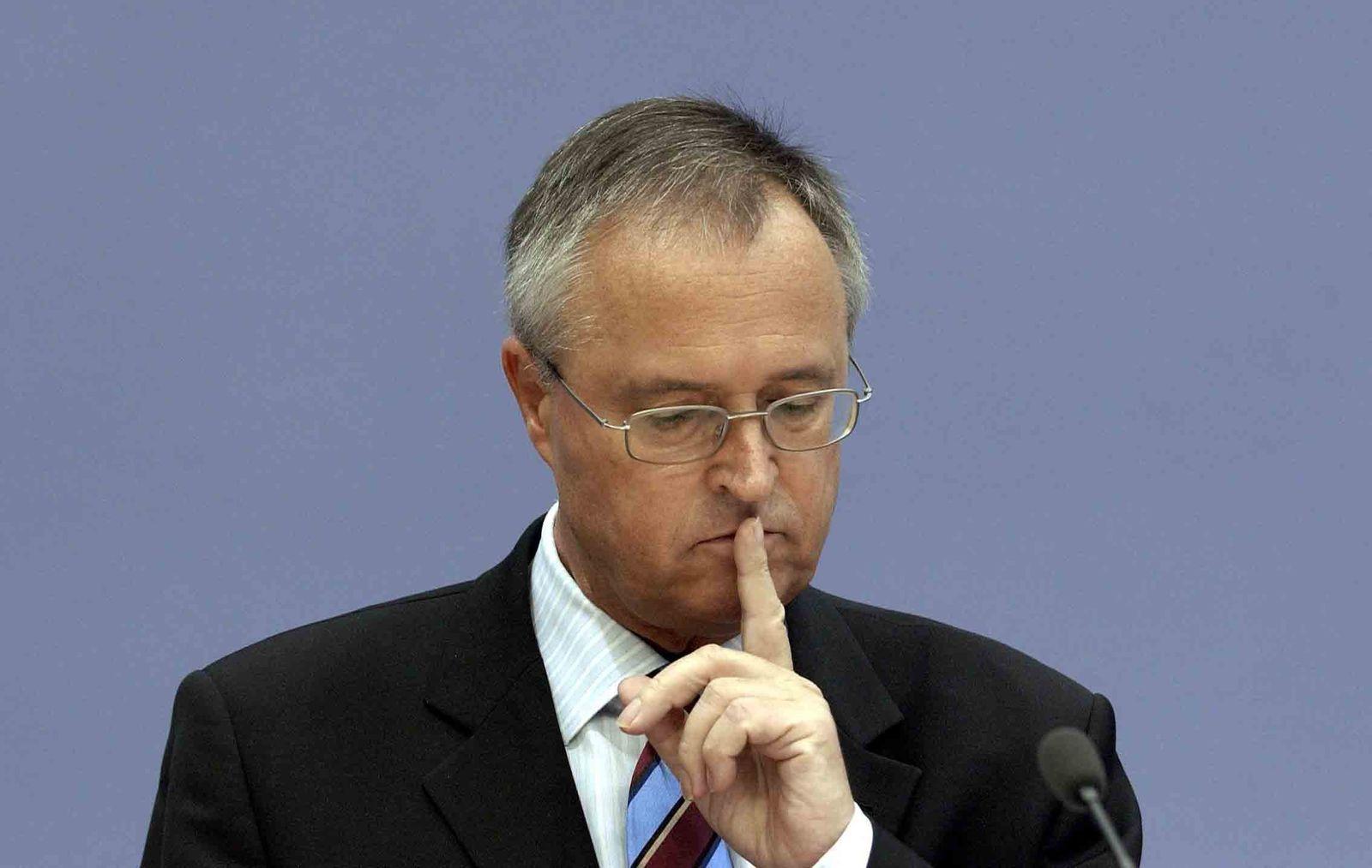 Finanzminister / Hans Eichel