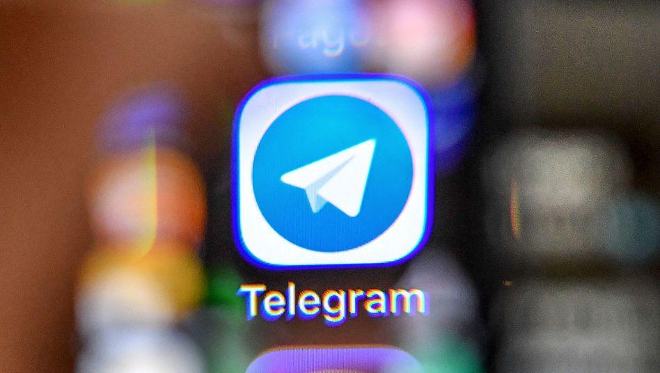 Die Chat-App Telegram verzeichnet auch angesichts der Coronakrise steigende Nutzerzahlen