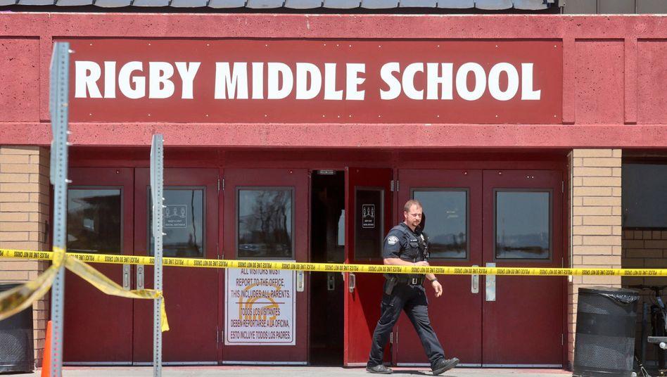 Rigby Middle School in Idaho: Drei Verletzte wurden in ein Krankenhaus gebracht