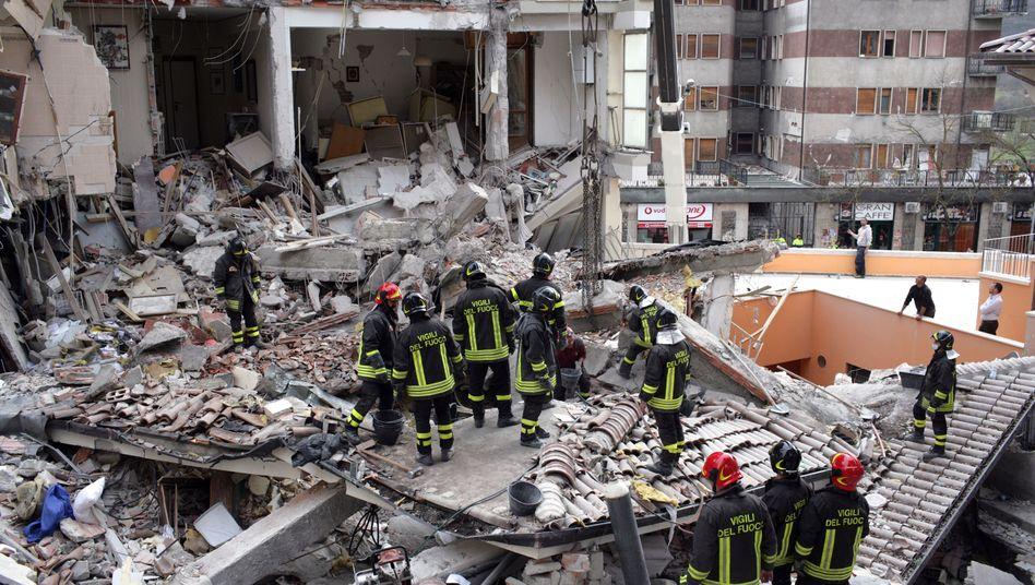L'Aquila-Katastrophe von 2009: Gericht verurteiltErdbebenforscher zu langen Haftstrafen
