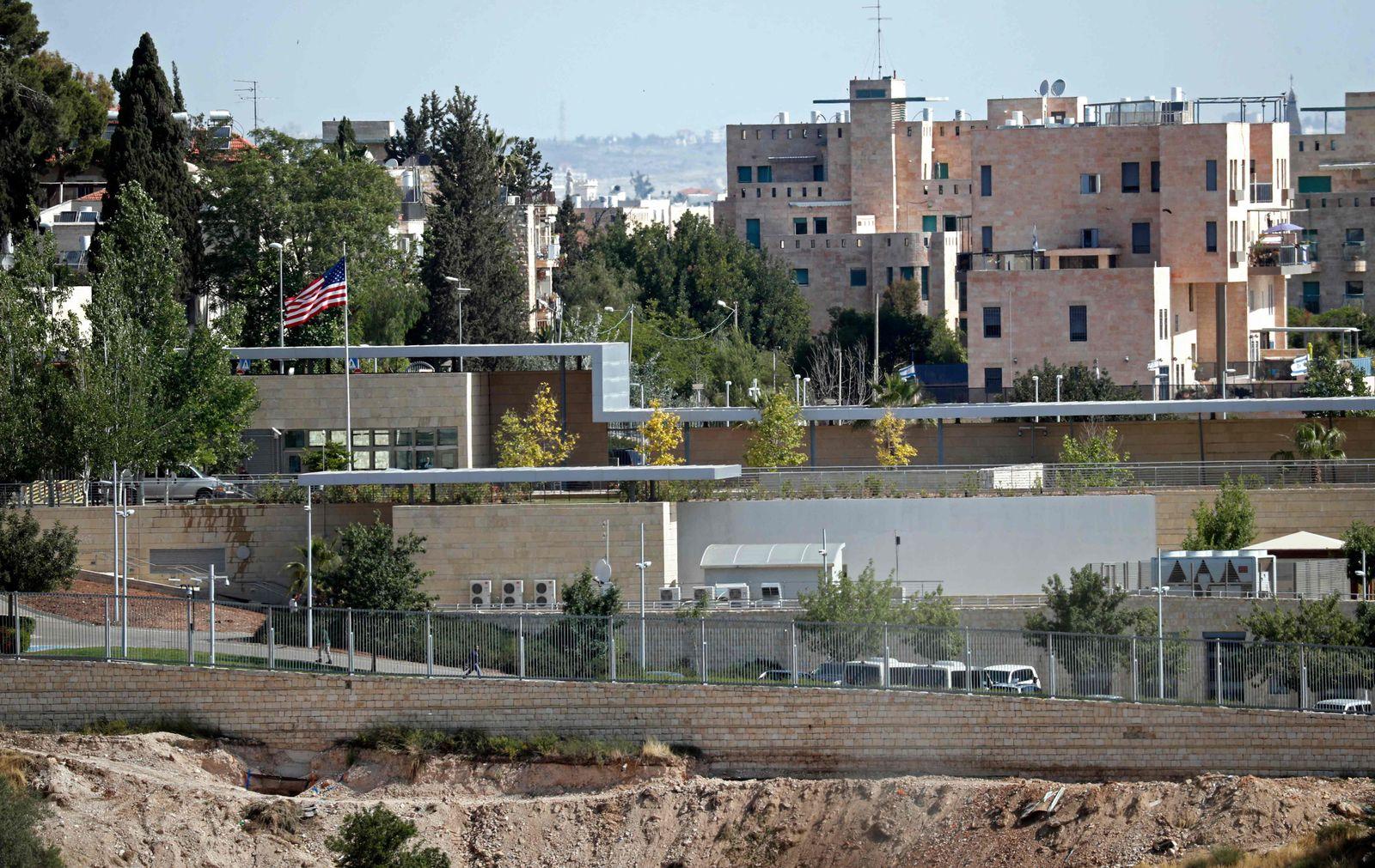 Israel/ Jerusalem/ US-Botschaft