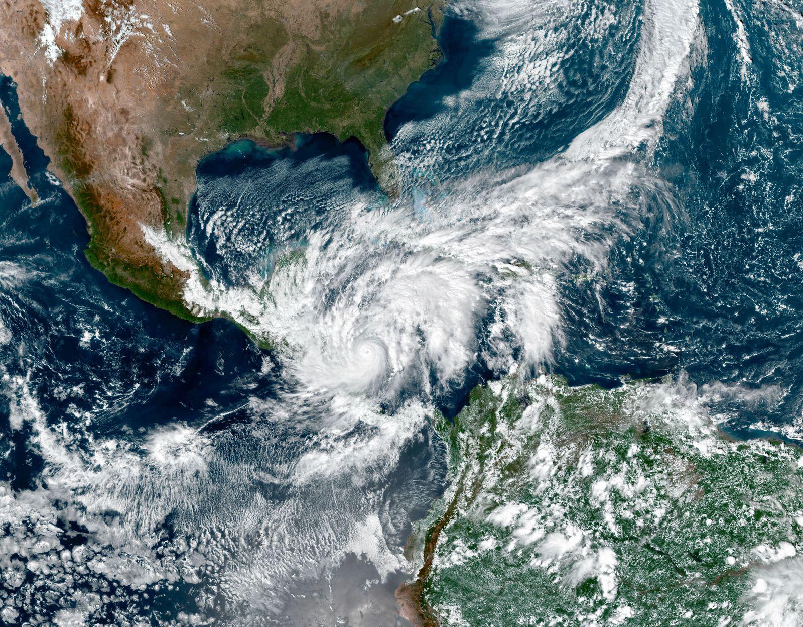 Eta Heads to Central America