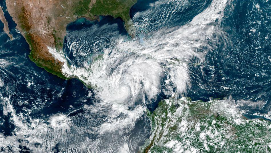 """""""Eta"""" ist der 28. Tropensturm im Atlantik in der laufenden Saison und der zwölfte Hurrikan"""