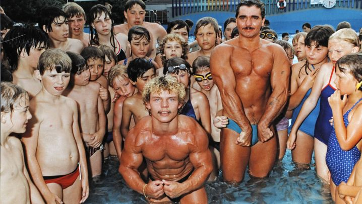Die frühen Jahre: Bodybuilding - Brathähnchen im eigenen Schweiß