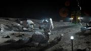 Amerikas Anspruch auf den Mond