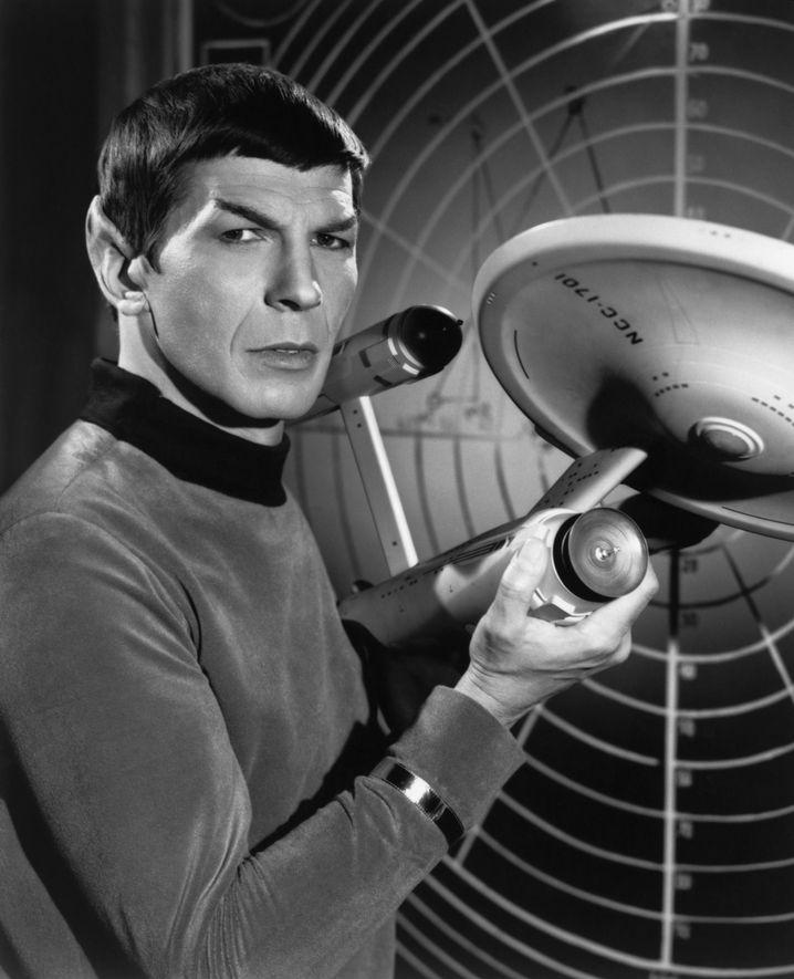 Leonard Nimoy alias Mr. Spock
