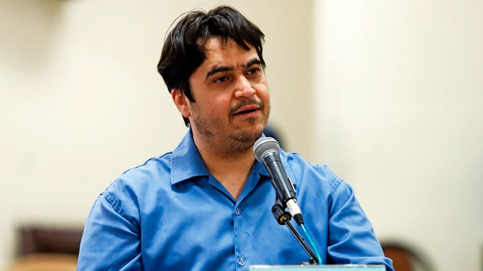 Ex-Journalist Zam: Wurde unter ungeklärten Umständen festgenommen